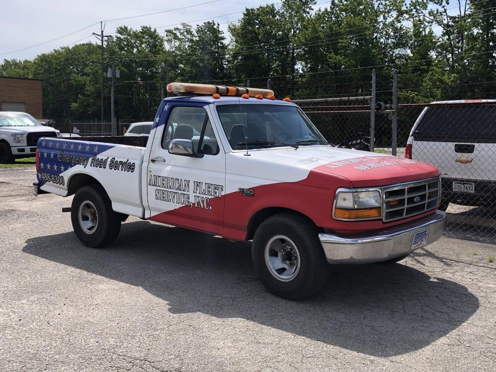 Emergency Road Service Truck American Fleet Service