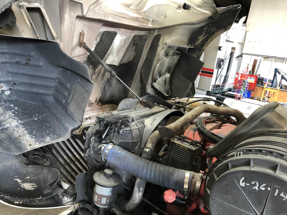 Repairing a Diesel Engine