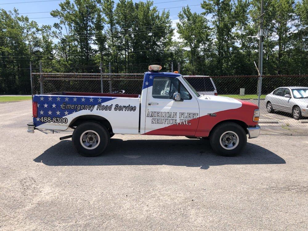 Van Fleet Service Pick-Up Truck